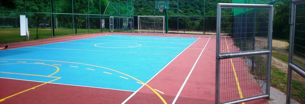 Γήπεδο basket Κατασκήνωση Θάσο